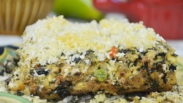 Vegetarian Thanksgiving- Tofu Loaf With Mixed Vegetables