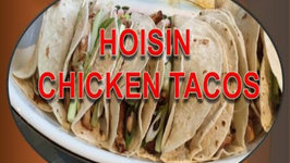 Hoisin Chicken Tacos and Wraps