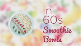 How to in 60 seconds Mocha and Almonds Smoothie Bowl