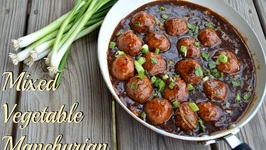 Mixed Vegetable Manchurian-Authentic Indo Chinese