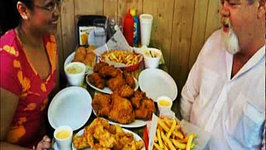 Momma Cuisine Food Travels - Fried Chicken and Ronald Reagan in Dixon, Illinois