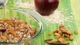 Apple Crumble (Healthy Heart, High Fibre Recipe)