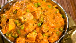 Matar Paneer  How to Make Paneer Mutter Masala  Indian Home Style Cooking