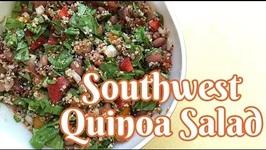 Quick Southwest Quinoa Salad for Two