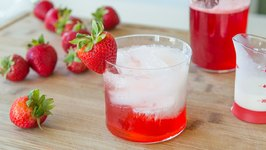 Strawberry Italian Cream Soda - Non-alcoholic Drink Miniseries