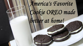America's Favorite Cookie Oreo made better at home - Egg Free Whoopie Pie Cookie