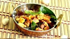 Stir Fried Jackfruit Seeds  Kathal Ke Beej ki Sabzi Video