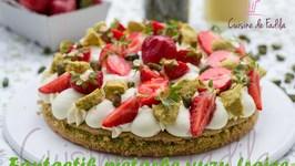 Fantastik pistache yuzu fraise