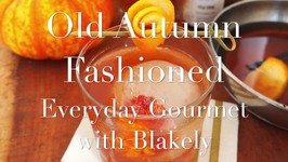 Cocktail Recipe- Old Autumn Fashioned