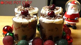 Cheaters Chocolate Cherry Trifles