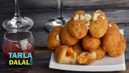 Aloo Cheese Croquettes, Potato and Cheese Rolls