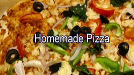 Easy Homemade Pizza with dough and Sauce