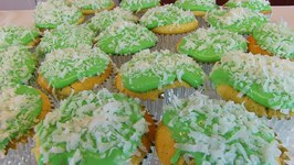 Betty's Green Coconut-Cream Cheese Frosting -- St. Patrick's Day
