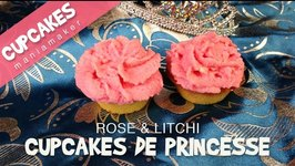 Cupcakes rose and litchi  Cupcakes de princesses