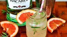 Cocktail - Grapefruit Rosemary Mojito