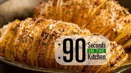 90 Second Hasselback Potato