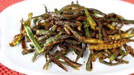 Kurkuri Bhindi Fry Recipe - Crispy Okra fry Indian Recipe - How to make Bhindi Fry  Okra Fry