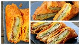 Bread Pakora  Aloo Bread Pakoda  Evening Snack  Indian Street Food