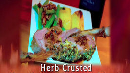 Herb Crusted New Years Eve Rack of Lamb