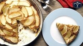 Apple Skillet Cake Recipe - 4K
