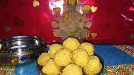 Bhakri na Ladoo for Shree Ganeshji