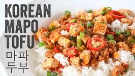 Korean Mapo Tofu Recipe Season 4, Ep. 13