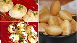 Making of Puri for GolgappaPanipuri Puchka Dahipuri and many other Chaats Recipe