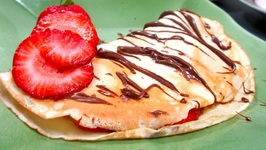 How To Make French Crepes - Les crepes