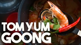 Tom Yum Goong - Thai Soup with Shrimp