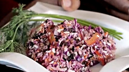 Delicious Vegan Zesty Dill Coleslaw