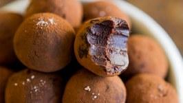 Salted Caramel Whisky Chocolate Truffles