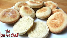 Home Made English Muffins  One Pot Chef