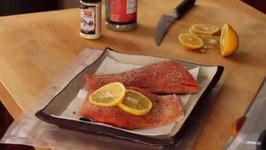FoodSaver Tip - Preseason fish before packaging