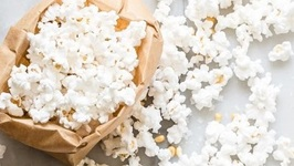 Paper Bag Popcorn - Easy Snack Recipes
