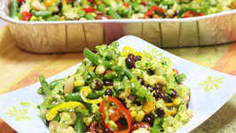 Rainbow Magic Beans Salad - The Best Potluck Recipe