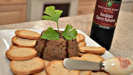 How to Make Napa Valley Bordeaux Cherry Balsamic Chicken Liver Pate