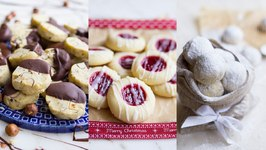 Easy Shortbread Butter Cookies (One Recipe THREE Ways)