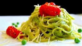 Green Peas And Walnut Pesto With Whitney Reynolds