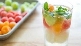 Triple Melon Sorbet Float