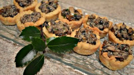 How to Bake Creamy Mushroom Tartlets