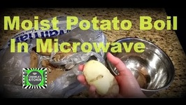Potato in Microwave Boiled without water still Moist Tip video by CK Epsd. 348