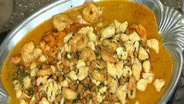 Sautéed Seafood Platter Creole Style
