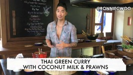 How To Make Thai Green Curry With Coconut Milk And Prawns