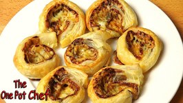 Cheesy Vegemite Scrolls  One Pot Chef