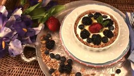 Healthy Easy and Delicious Fresh Fruit Tart
