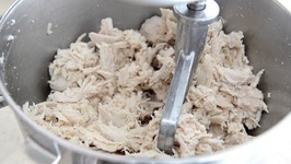 How to Make Tons of Chicken in the Slow Cooker  My Secret for Shredding it Quickly