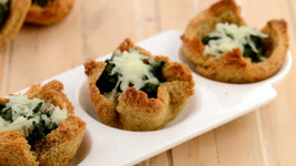 Spinach Tartlets (Diabetic Snack)