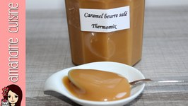 Pte  tartiner au Caramel beurre sal Thermomix