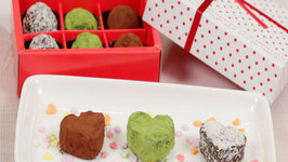 Chocolate Rum Raisin Walnut Valentines