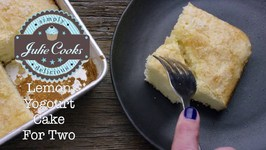 Lemon Yogourt Cake For Two